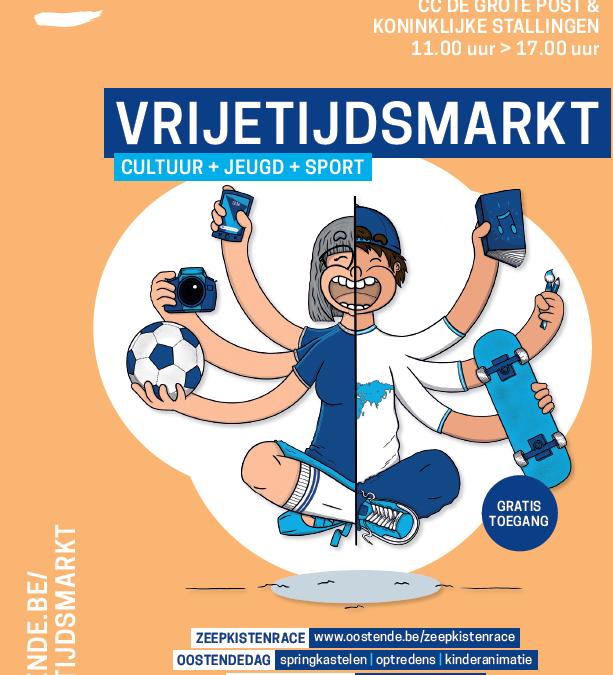 22/09/2019 Vrijetijdsmarkt!!